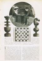 Échec Et Mat Par Télégramme /  Article,  Pris D`un Magazine / 1910/1911 - Livres, BD, Revues