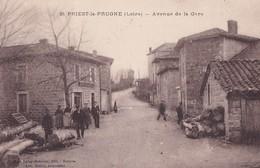 SAINT PRIEST LA PRUGNE         AVENUE DE LA GARE - France