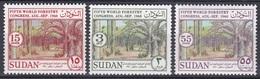 Sudan Soudan 1960 Wirtschaft Economy Forstwirtschaft Forestry Wald Wälder Forest Baum Bäume Trees Seattle, Mi. 166-8 ** - Sudan (1954-...)