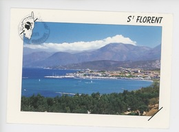 Saint Florent - Vue Générale - Au Loin Les Montagnes Du Cap Corse - Autres Communes