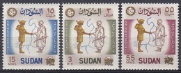 Sudan Soudan 1959 Geschichte History Militärputsch Militär Military Coup Revolt General Ibrahim Abboud, Mi. 157-9 ** - Sudan (1954-...)