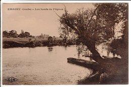 Cpa Emagny Les Bords De L Ognon - France