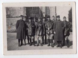 GROUPE DE MILITAIRE  OCTOBRE 1939   -  VOIR LEGENDE AU DOS - Guerra, Militari