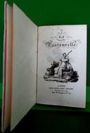 EO 1820 LA PASTOURELLE LOUIS JANET . LIVRE MINIATURE DANS SON ETUI. 6 GRAVURES SUR CUIVRE. CALENDRIER ALMANACH - Books, Magazines, Comics