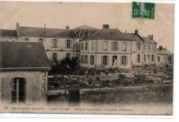 Saint-Gilles-L'Hôpital, Façade Nord Et Pavillons D'isolement - Saint Gilles Croix De Vie