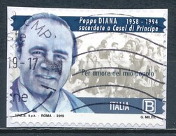 °°° ITALIA 2019 - PEPPE DIANA °°° - 6. 1946-.. Repubblica