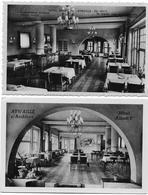 AYWAILLE : Hôtel Albert 1er - Salle à Manger (2 Cartes) - Aywaille