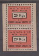 INDOCHINE  BON POUR 20 Kgs De Charbon Pour GAZOGENE   Réf  LT5 - Indochine (1889-1945)
