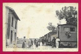 CPA Juilly - La Gare - L'Arrivée D'un Train - Otros Municipios