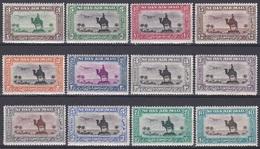 Sudan Soudan 1931 Kultur Culture Kamelreiter Kamele Camels Denkmal Memorial Flugzeug Aeroplane Palme Palms, Mi. 54-5 ** - Sudan (1954-...)