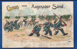Gruss Vom HAGENAUER SAND         écrite En 1905 - Weltkrieg 1914-18