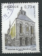 FRANCIA 2017 - YV 5146 Abbaye De Saint-Benoit - Cachet Rond - Gebraucht