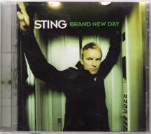 """STING """"BRAND NEW DAY"""""""" CD - Rock"""