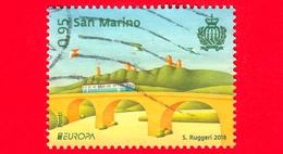 SAN MARINO - Usato - 2018 - Europa - Ponte Ferroviario Di Valdragone - 0.95 - San Marino