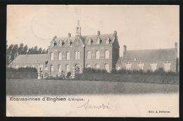 ECAUSSINNES D'ENGHIEN  L'HOSPICE  1901     -- 2 AFBEELDINGEN - Ecaussinnes