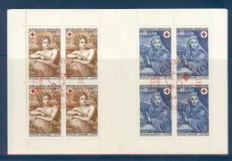 CARNET CROIX ROUGE 1969 OBLITERE PREMIER JOUR EN ROUGE - Croix Rouge