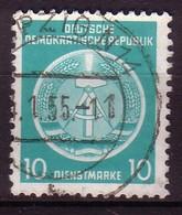 DDR Dienst A 4 XI Gestempelt (3490C) - Service