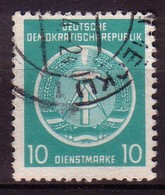 DDR Dienst A 4 XII Gestempelt (3492C) - Service