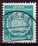 DDR Dienst A 4 XII Gestempelt (3493C) - Service