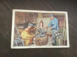 Tekening Foto Belgische Folklore Belgie Cote D'Or Chocolade Sint-Eligiusfeest Smidse Brabant - Personnes