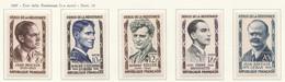 PIA - FRA - 1957 : Eroi Della Resistenza  - (Yv 1100-04) - Francia