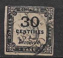 France  Taxe   N° *  6   Oblitéré   B      Soldé   à Moins De  10 %    Le Moins Cher Du Site  ! ! ! - 1859-1955 Used