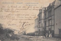 Environs De Virton - Houdrigny - La Maison Bras De Fer - Très Belle Carte Animée - état Voir Scan. - Virton
