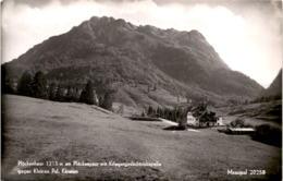 Plöckenhaus Am Plöckenpass Mit Kriegergedächtniskapelle Gegen Kleinen Pal, Kärnten (20258) * 17. 8. 1954 - Autriche