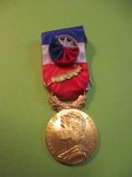Médaille Française Ancienne Avec étui /RF/ Minist.du Travail Et Séc.Soc./A Bottel/H Bataillard/1961       MED320 - Francia
