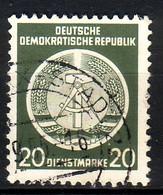 DDR Dienst A 8 XI Gestempelt (3520B) - Service