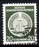 DDR Dienst A 8 XI Gestempelt (3521A) - Service
