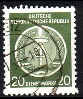 DDR Dienst A 8 XI Gestempelt (3522A) - Service