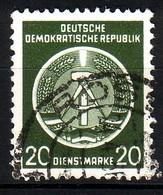DDR Dienst A 8 XI Gestempelt (3522B) - Service