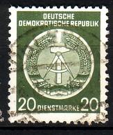 DDR Dienst A 8 XI Gestempelt (3522C) - Service