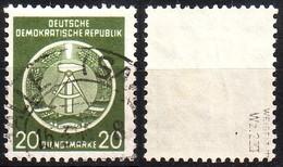 DDR Dienst A 8 XI Gestempelt Geprüft (3523A) - Service