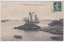 22 PAIMPOL Goélette En Route Pour L'Islande ,Terre Neuvas ,pèche - Paimpol