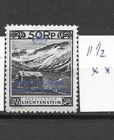 1932 MH Liechtenstein - Official
