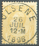 N°50 Obl. Sc OLSENE 26 Juillet 1896 Centrale.  Pièce De Concours. 15192 - 1884-1891 Léopold II