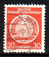 DDR Dienst A 11 XII Gestempelt (3542A) - Service