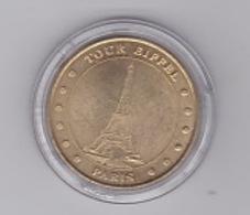 Tour Eiffel 12 Points 2001 Millénium - Monnaie De Paris