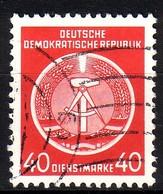 DDR Dienst A 12 XI Gestempelt (3545B) - Service