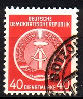 DDR Dienst A 12 XI Gestempelt (3545C) - Service