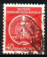 DDR Dienst A 12 XI Gestempelt (3546B) - Service