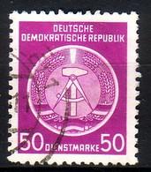 DDR Dienst A 14 XII Gestempelt (3556C) - Service