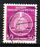 DDR Dienst A 14 XII Gestempelt (3557A) - Service
