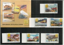 Monorail électrique De Brisbane,Shinkansen Du Japon,locomotives Diesel & Vapeur.Histoire Du Chemin De Fer. B-F Et Série - Trenes