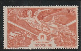 INDOCHINE P A  Anniversaire De La Victoire N° 39* - Aéreo