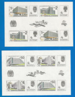 Czechoslovakia 1988 Mint 2 Blocks MNH(**) - Blokken & Velletjes
