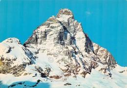 Cartolina Valle D'Aosta Monte Cervino - Italy