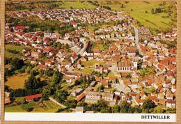 X67078 Peu Commun DETTWILLER Bas-Rhin Vue Aérienne Ville Pour COLIN Tabacs-Journaux 1980s PIERRON - Autres Communes